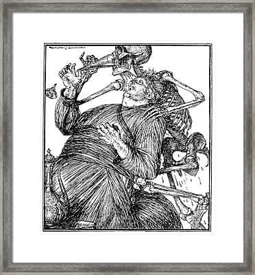 Omar Khayam Rubaiyat Framed Print by Granger