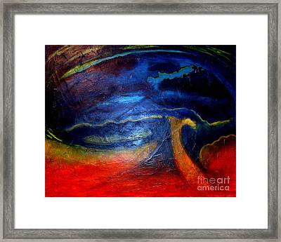 Ominous Framed Print by Julia  Walsh