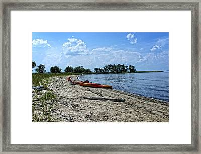 On The Chesapeake Framed Print by Kathi Isserman