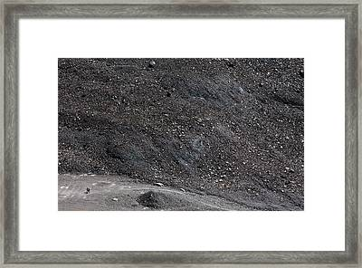 On The Glacier Framed Print by Konstantin Dikovsky