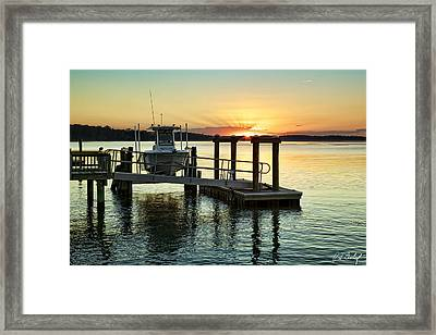 On The Waterfront Framed Print by Phill Doherty