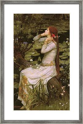 Ophelia Framed Print by Philip Ralley
