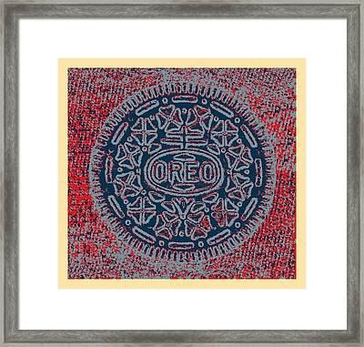 Oreo In Hope1 Framed Print by Rob Hans