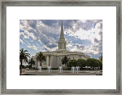 Orlando Temple Framed Print