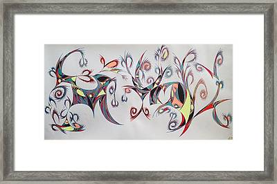 Orpheus Framed Print by Robert Nickologianis