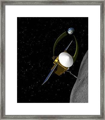 Osiris-rex Asteroid Mission Framed Print