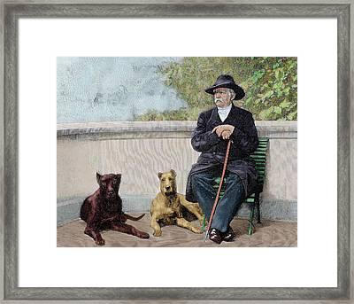 Otto-leopold Bismarck, Prince Framed Print