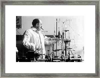 Otto Stern Framed Print