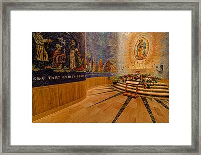 Our Lady Of Guadalupe Framed Print by Susan Candelario