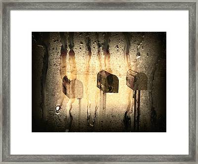 Out My Window Framed Print by Michael L Kimble