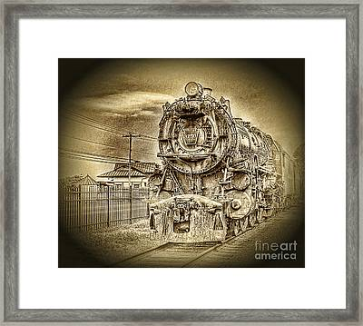 Out Of The Past Framed Print by Arnie Goldstein