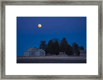 Over The Boathouse Framed Print