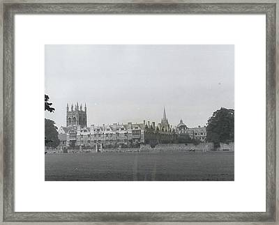 Oxford University, England Framed Print by Retro Images Archive