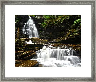 Ozone Falls Framed Print by Frozen in Time Fine Art Photography
