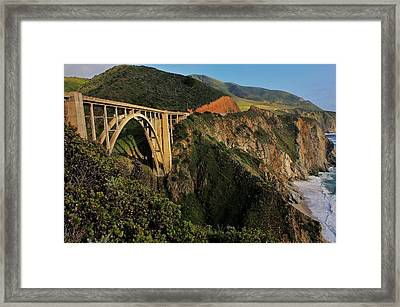 Pacific Coast Highway Framed Print by Benjamin Yeager