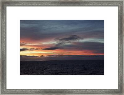 Pacific Sunrise Framed Print