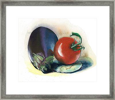 Painted..cooked.. Framed Print by Alessandra Andrisani
