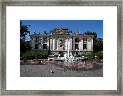 Palac Sztuki - The Palace Of Art Framed Print by Panoramic Images