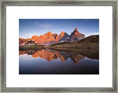 Pale Di San Martino Framed Print