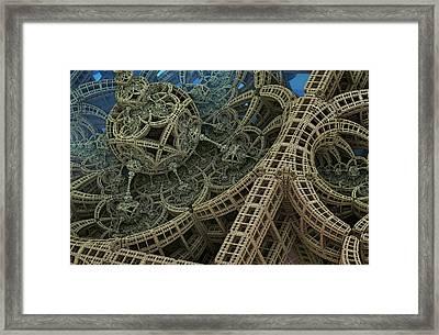 Parallel World 2 Framed Print