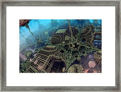 Parallel World  Framed Print by Evgeniy Lankin