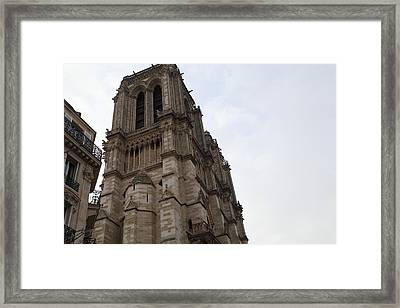 Paris France - Notre Dame De Paris - 011310 Framed Print