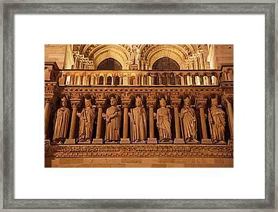 Paris France - Notre Dame De Paris - 01135 Framed Print