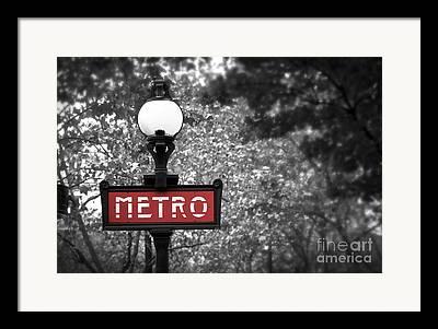 Metro Park Framed Prints