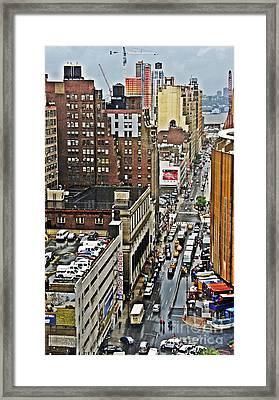 Framed Print featuring the photograph Park N Lock by Lilliana Mendez