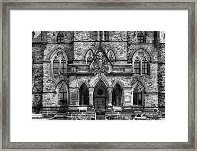 Parliament Buildings  Ottawa, Ontario Framed Print