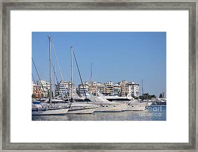 Pasalimani Port Framed Print