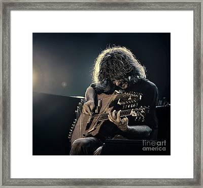Pat Metheny Framed Print