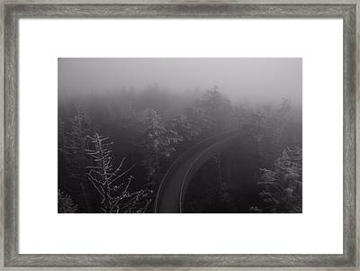 Path To The Unknown Framed Print by Dan Sproul