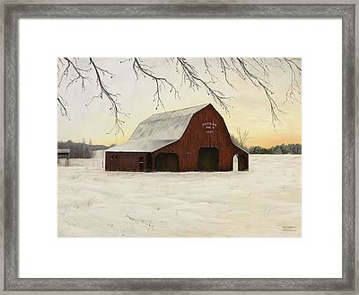 Patterson Barn Framed Print by Mary Ann King