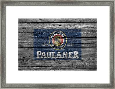 Paulaner Framed Print by Joe Hamilton