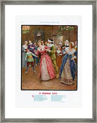 Pears Annual 1915 1910s Uk Cc Carols Framed Print by The Advertising Archives