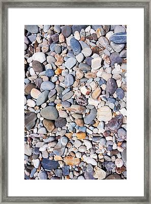 Pebble Beach Framed Print