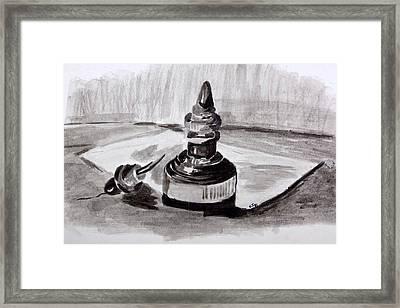 Pen And Ink Framed Print