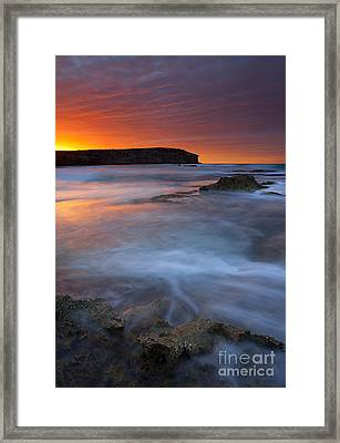 Pennington Dawn Framed Print by Mike  Dawson