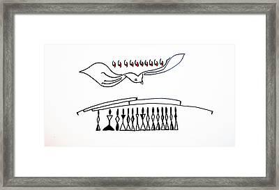 Pentecost Framed Print by Gloria Ssali