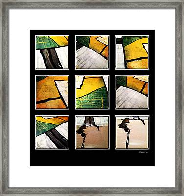 People And Places Framed Print
