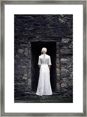 Period Lady Framed Print by Joana Kruse