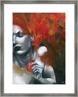 Persephone Framed Print by Patricia Ariel