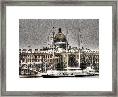 Peterburg Winter  Framed Print