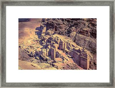 Petra Framed Print by Alexey Stiop