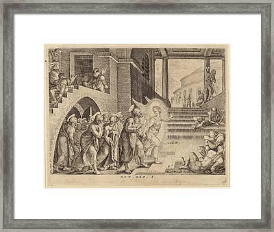 Philip Galle After Maerten Van Heemskerck Flemish Framed Print