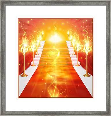 Phoenix Framed Print by Harald Dastis