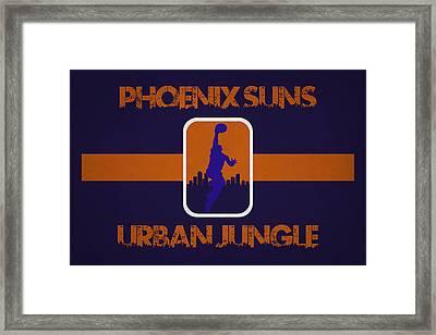 Phoenix Suns Framed Print
