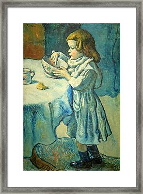 Picasso's Le Gourmet Framed Print