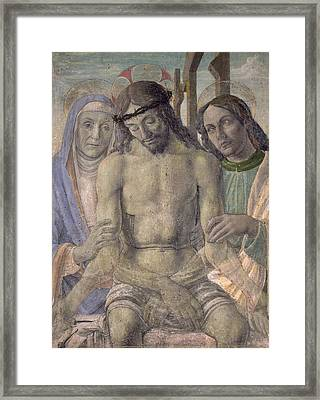 Pieta  Framed Print by Italian School